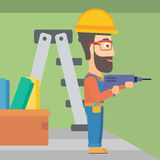 Constructor with perforator. Royalty Free Stock Images