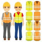 Constructor Vests Uniform libre illustration
