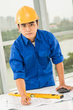 Constructor worker Stock Photo