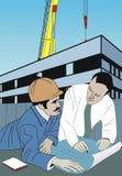 Constructor y arquitecto Imagen de archivo libre de regalías