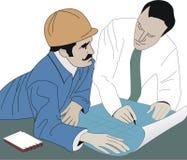 Constructor y arquitecto libre illustration