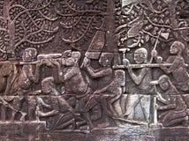 Constructores de Angkor Fotografía de archivo libre de regalías