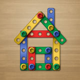 Constructorhouse Royalty Free Stock Photography