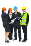 Constructors working Stock Photo