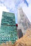 Construções altas da elevação com H&M Logo Fotos de Stock