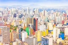 Construções em Sao Paulo, Brasil Fotografia de Stock