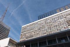 Construções modernas no Sao Paulo City Fotografia de Stock