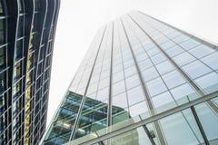 Construções na cidade de Londres Fotografia de Stock