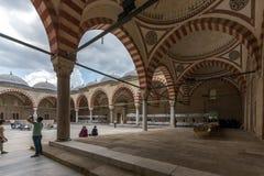 Construido entre la mezquita 1569 y 1575 de Selimiye en la ciudad de Edirne, Tracia del este, Turquía fotografía de archivo
