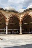 Construido entre la mezquita 1569 y 1575 de Selimiye en la ciudad de Edirne, Tracia del este, Turquía imágenes de archivo libres de regalías