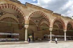 Construido entre la mezquita 1569 y 1575 de Selimiye en la ciudad de Edirne, Tracia del este, Turquía foto de archivo libre de regalías