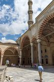 Construido entre la mezquita 1569 y 1575 de Selimiye en la ciudad de Edirne, Tracia del este, Turquía imagen de archivo