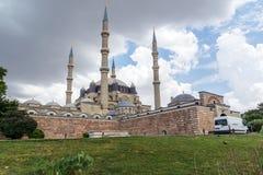 Construido entre la mezquita 1569 y 1575 de Selimiye en la ciudad de Edirne, Tracia del este, Turquía fotografía de archivo libre de regalías