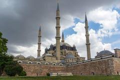 Construido entre la mezquita 1569 y 1575 de Selimiye en la ciudad de Edirne, Tracia del este, Turquía fotos de archivo