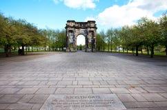 Arco de McLennan cerca de la tribunal superior, Glasgow Fotos de archivo