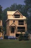 Construindo uma casa em Canadá Imagem de Stock Royalty Free