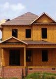 Construindo uma HOME fotografia de stock royalty free