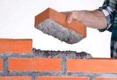 Construindo uma parede. Foto de Stock Royalty Free