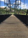 Construindo uma ponte sobre a abertura Fotografia de Stock