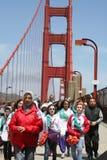 Construindo uma ponte sobre o evento Imagem de Stock Royalty Free