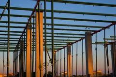 Construir el edificio Fotografía de archivo