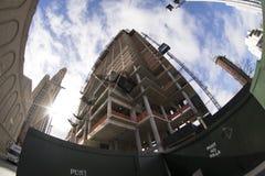 Construir el edificio en Brooklyn Foto de archivo libre de regalías