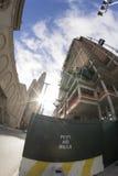 Construir el edificio en Brooklyn Imagen de archivo