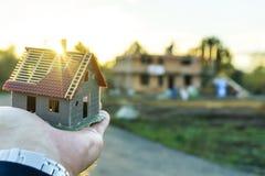 Construisez une maison Image stock