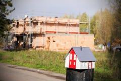 Construisez une maison Images stock