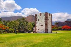 Construit en 1447-1450 près du port de San Sebastian dans le style gothique en retard Photo stock
