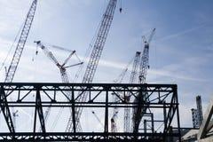 Construção 4 Fotografia de Stock Royalty Free