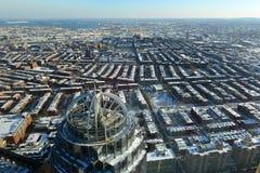 Construção da avenida de 111 Huntington, Boston, Massachusetts Imagem de Stock Royalty Free