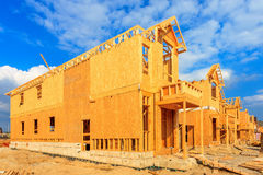 Construção da casa Fotografia de Stock Royalty Free