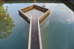 Construção da filtragem da água da drenagem Fotografia de Stock Royalty Free