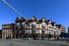 Construção de Adams, Quincy, Massachusetts Imagens de Stock