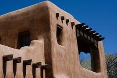 Construção de Adobe no sudoeste Imagem de Stock