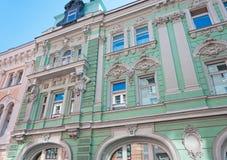 A construção de antigo Volga-Kama Commercial Bank Imagem de Stock