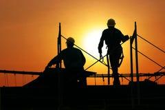 Construção de edifício Imagens de Stock Royalty Free