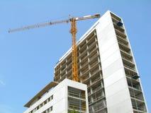 Construção de edifício Foto de Stock Royalty Free