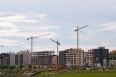 Construção de edifícios Imagem de Stock Royalty Free