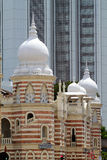 Construção de Sultan Abdul Samad, Kuala Lumpur Imagens de Stock Royalty Free
