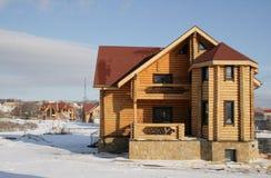 Construção de uma casa nova Imagens de Stock Royalty Free