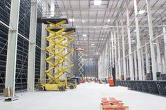 Construção do armazém moderno Imagem de Stock Royalty Free