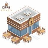 Construção do café Imagens de Stock Royalty Free