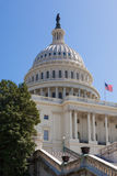 Construção do Capitólio dos E.U. no Washington DC Fotos de Stock Royalty Free