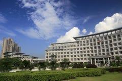 Construção do governo do distrito de Haicang Fotografia de Stock