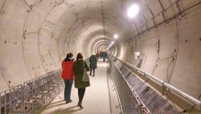 Construção do metro de Bucareste Fotos de Stock Royalty Free