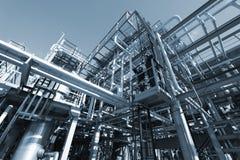 Construção do petróleo da engenharia Foto de Stock