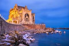 Construção histórica do casino de Constanta Imagens de Stock Royalty Free