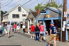 Construção histórica em Rockport, Massachusetts Imagem de Stock Royalty Free